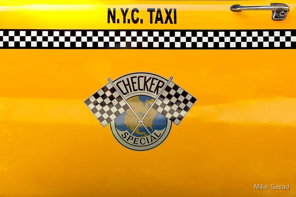 Car - City - NYC Taxi by Michael Savad