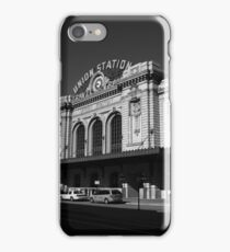 Denver - Union Station iPhone Case/Skin