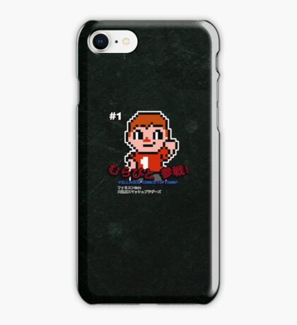 Villager 8 bit iPhone Case/Skin