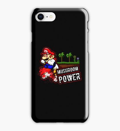 Mushroom Power iPhone Case/Skin