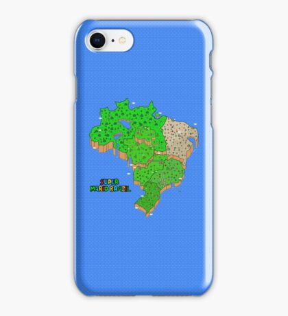Super Mario Brazil iPhone Case/Skin