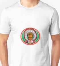 Native American Indian Chief Headdress Unisex T-Shirt