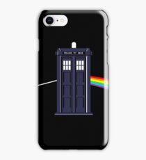 Doctor Who Pink Floyd Dark Side of the Moon mashup iPhone Case/Skin