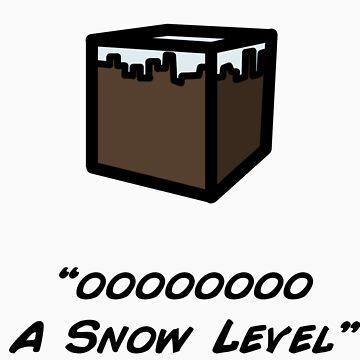 OOO  a snow level - minecraft by Mrfatboysing