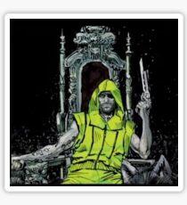Neon Joe Werewolf Hunter Comic Sticker