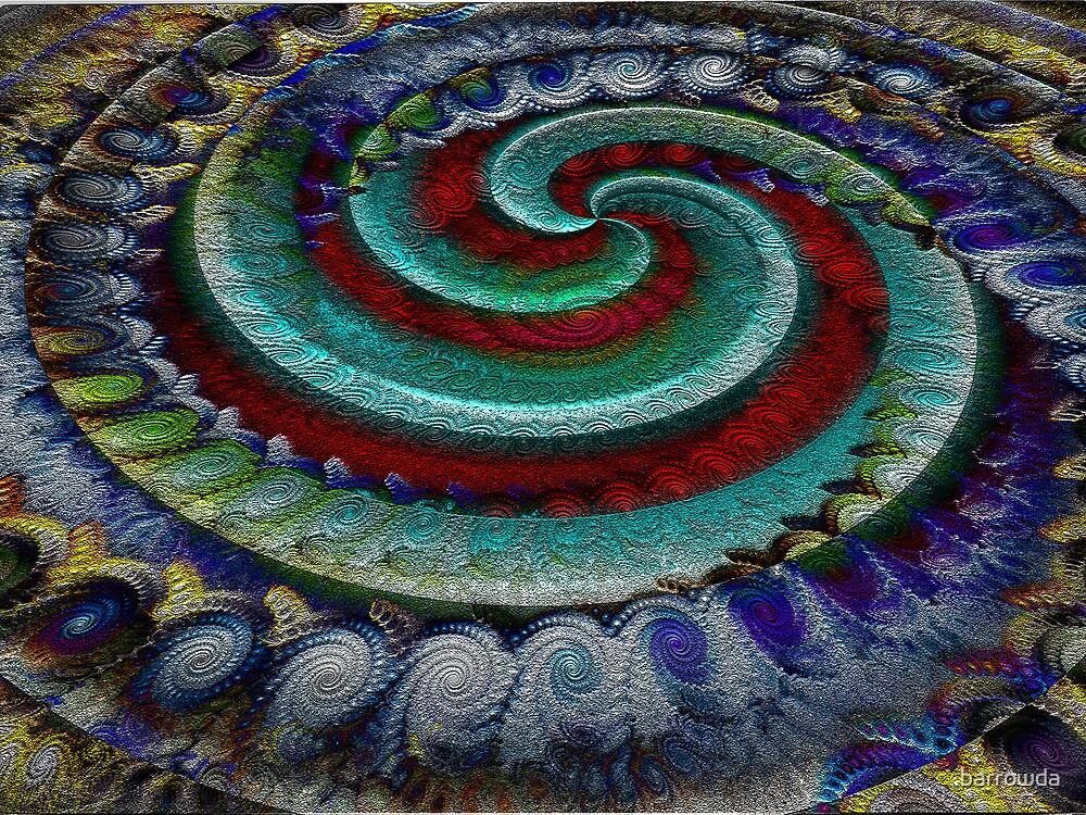 Spiraling Spirals of Spirals by barrowda