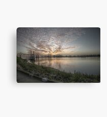 Sunset in Natchez, MS Canvas Print