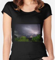 Lightning & Lightpainting Women's Fitted Scoop T-Shirt