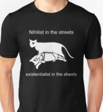 Nihilist in the streets Slim Fit T-Shirt