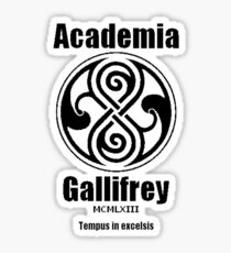 Academia Gallifrey Sticker