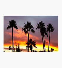 Tropical Colorful Storm Photographic Print