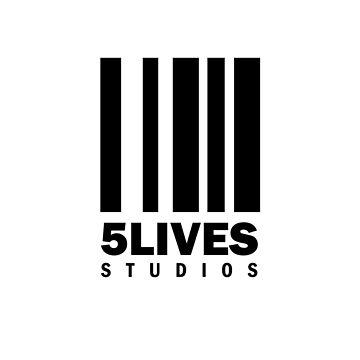 5 Lives Studios Black by 5LivesStudios