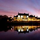 Dusk at the Swan by mikebov