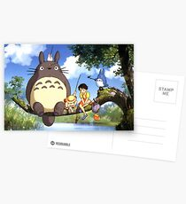 Totoro Postcards
