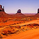 Merrick and Mittens - Monument Valley, Utah, USA by TonyCrehan
