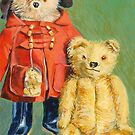 Teddy Bears with Attitude 2 by Elizabeth Moore Golding