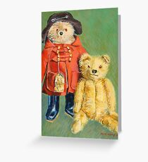 Teddy Bears with Attitude 2 Greeting Card