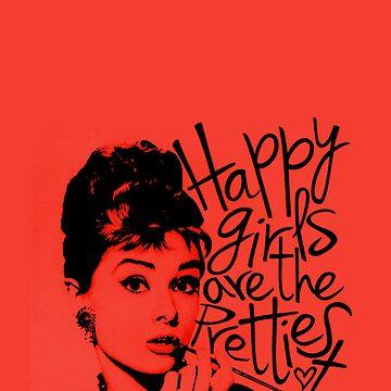 Audrey Hepburn by bernaloyola