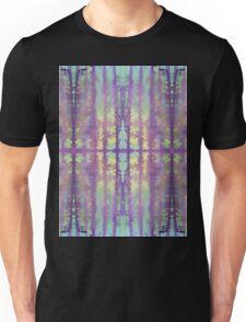 aqua violet drips Unisex T-Shirt