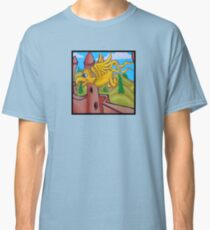 suesslike bird in flight (square) t Classic T-Shirt