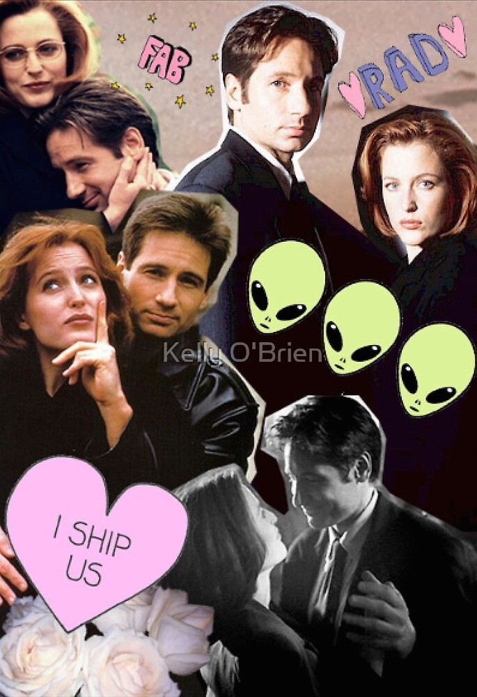 The X-Files Cuties by Kelly O'Brien
