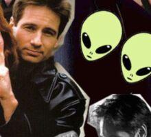 The X-Files Cuties Sticker