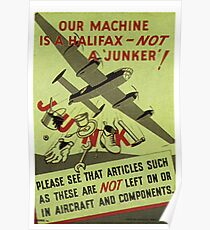 Our machine is a Halifax Poster
