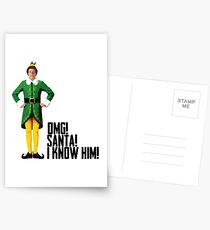 Elf - Will Ferrell | Buddy - Christmas Quote - Funny Postcards