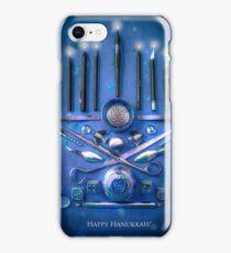 Happy Hanukkah! iPhone Case/Skin
