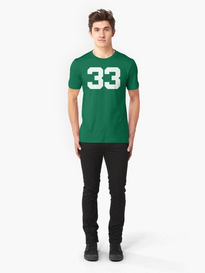Alternate view of #33 Slim Fit T-Shirt
