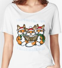 """""""What does the Fox Sing"""" (T-shirts) Women's Relaxed Fit T-Shirt"""