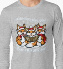 """""""What does the Fox Sing"""" (T-shirts) Long Sleeve T-Shirt"""