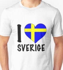 i love sweden Unisex T-Shirt