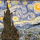 Starry Night After Van Gogh by center555