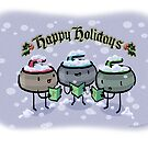 Happy Holidays by Tom Verre