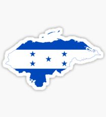 Honduras Flag Sticker