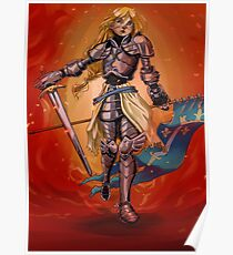 Jeanne d' Arc Poster