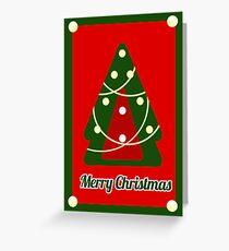 Merry Trees-mas Greeting Card