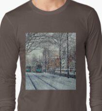Never ending winter. Brookline, MA Long Sleeve T-Shirt