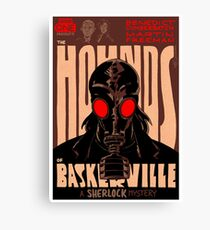 Vintage Poster - The Hounds of Baskerville Canvas Print