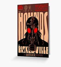 Vintage Poster - The Hounds of Baskerville Greeting Card