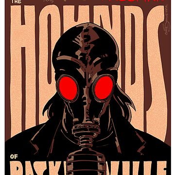 Vintage Poster - The Hounds of Baskerville by schweizercomics