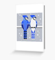 J is for Jay 2 Greeting Card