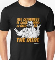 The Dude (Big Lebowski) T-Shirt