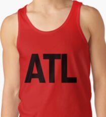 ATL Atlanta Black Ink Tank Top