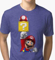 SuperMarioBros  Tri-blend T-Shirt
