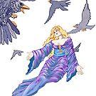 Dark Wings  by redqueenself