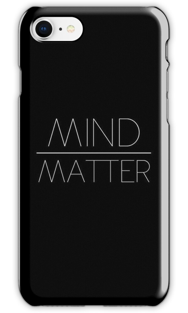 """mind over matter case The mind is a powerful thing the condition, which can be deadly, may be proceeded by a stressful or emotional event, which in her case was the slow and painful death of a beloved pet he believes """"these mind-body connections help explain how our thoughts impact overall health and well-being."""