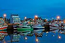 The Harbor at Night by cclaude