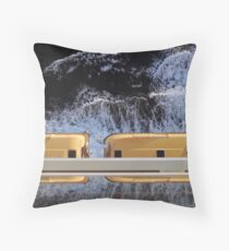 Lifeboats Throw Pillow